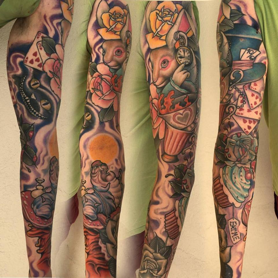 sleeve anja tattoo